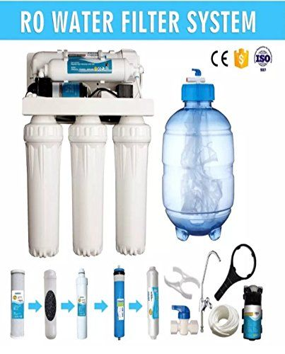 Best Kitchen Faucet 5 Stage Reverse Osmosis Water Filter System