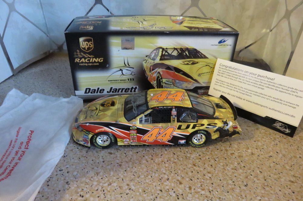 44 Dale Jarrett 2007 Kentucky Derby UPS 1/24 Scale NASCAR