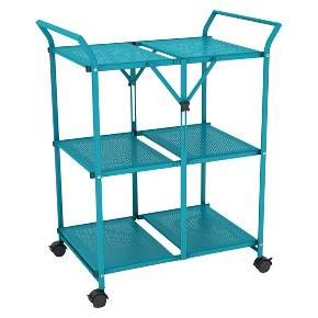 Folding Kitchen Cart Metal - Dar® : Target