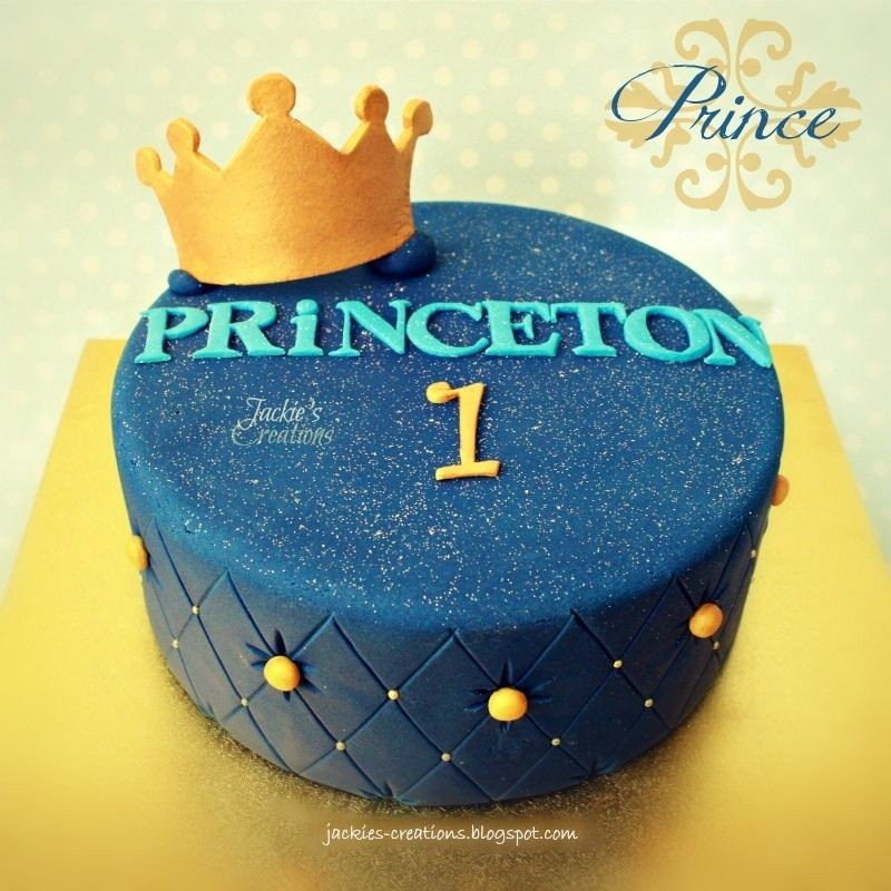 Made this cake on the weekend for a boy named PRiNCETON First time