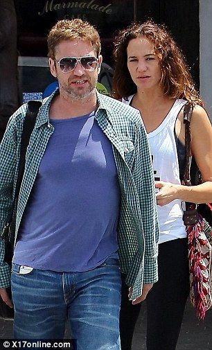 Reformed Playboy Gerard Butler Spotted With Girlfriend Morgan Brown