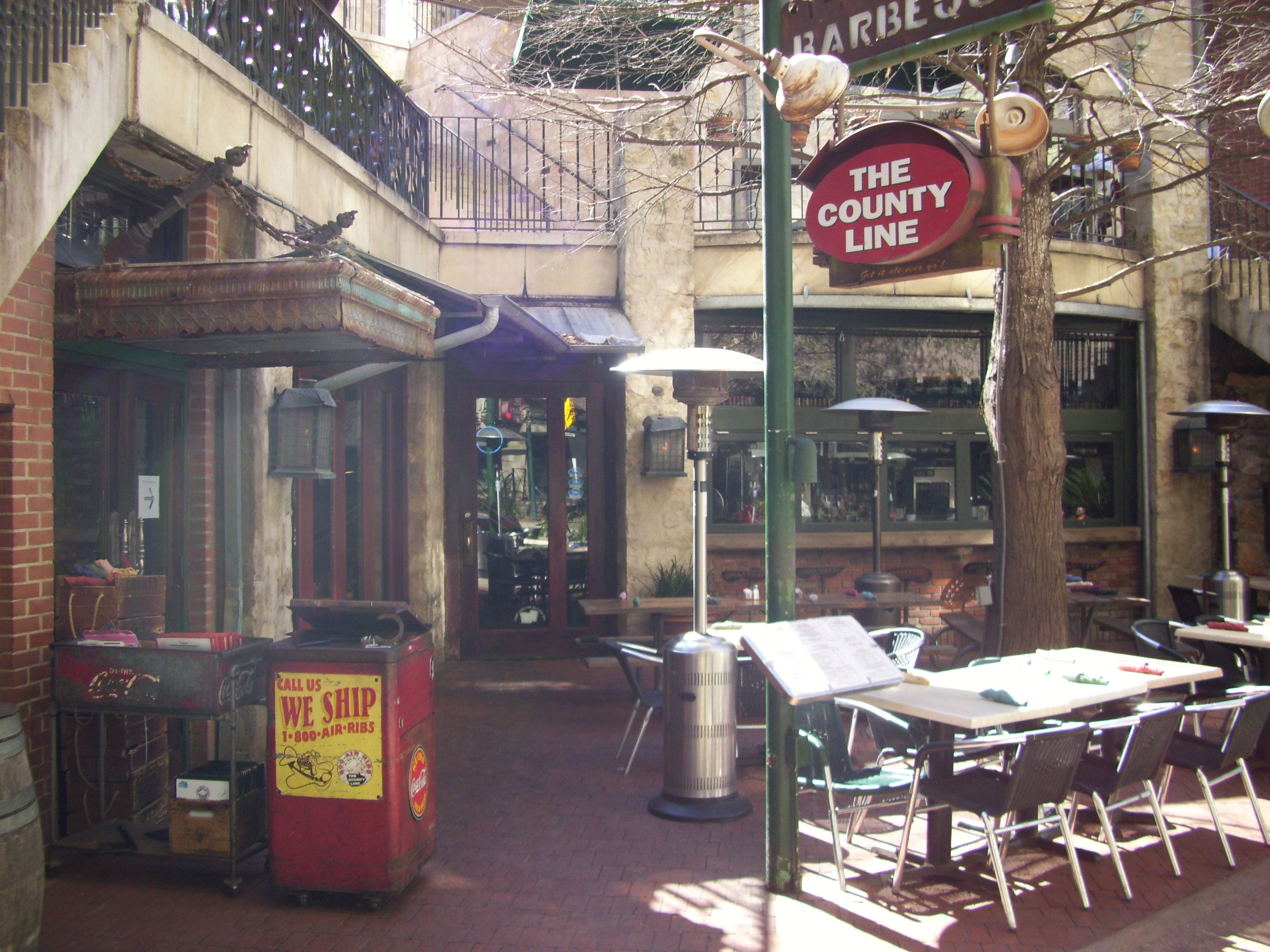 The County Line Right On The Riverwalk In San Antonio Tx