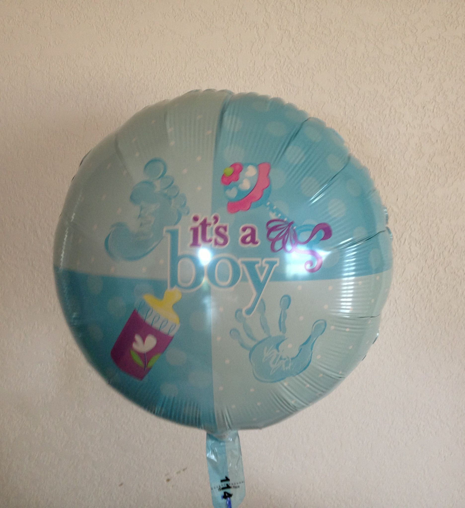 It s A Boy Gender Reveal Balloon Surprise Baby Shower DONE It