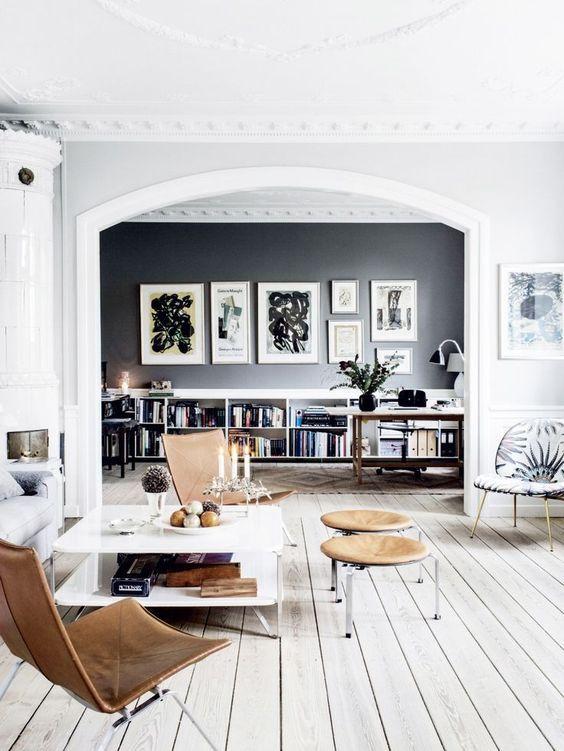 Mooie lijsten in de woonkamer | living | Pinterest | Schöner wohnen ...