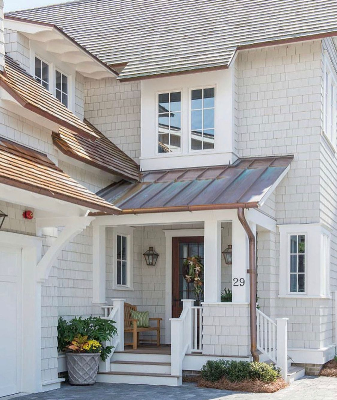 Gray Roof Paint: House Paint Exterior, Modern