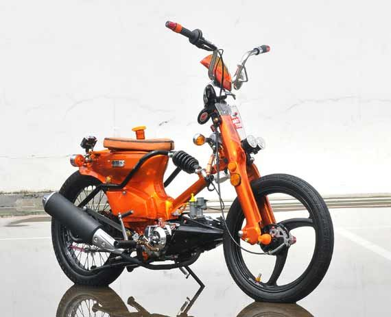 Top modifikasi motor astrea 800