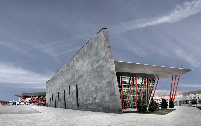 bahadir kul architects kayseri west city bus terminal designboom