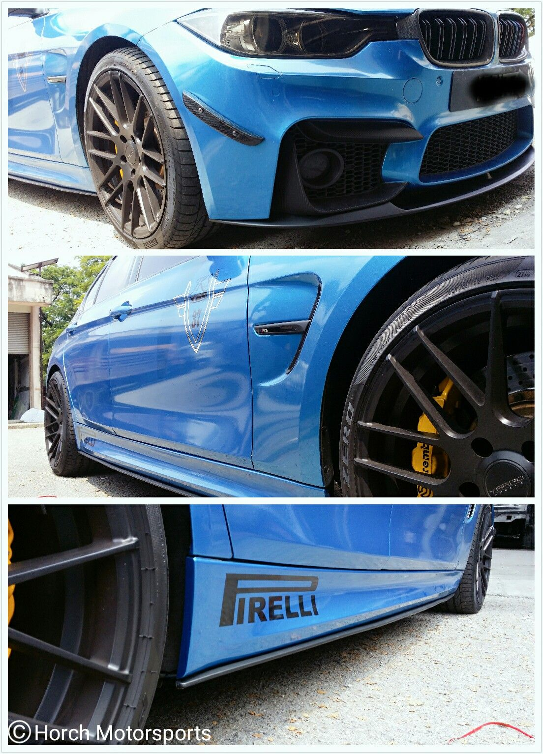 cb377367a15 F30 M3 Bumper × M-Performance M3 front Lip × Rocker Panel. FREE  installation & GST FREE @ Horch Motorsports 017-340 5316. #Bimmer #F30  #Bodykit #M3 # ...