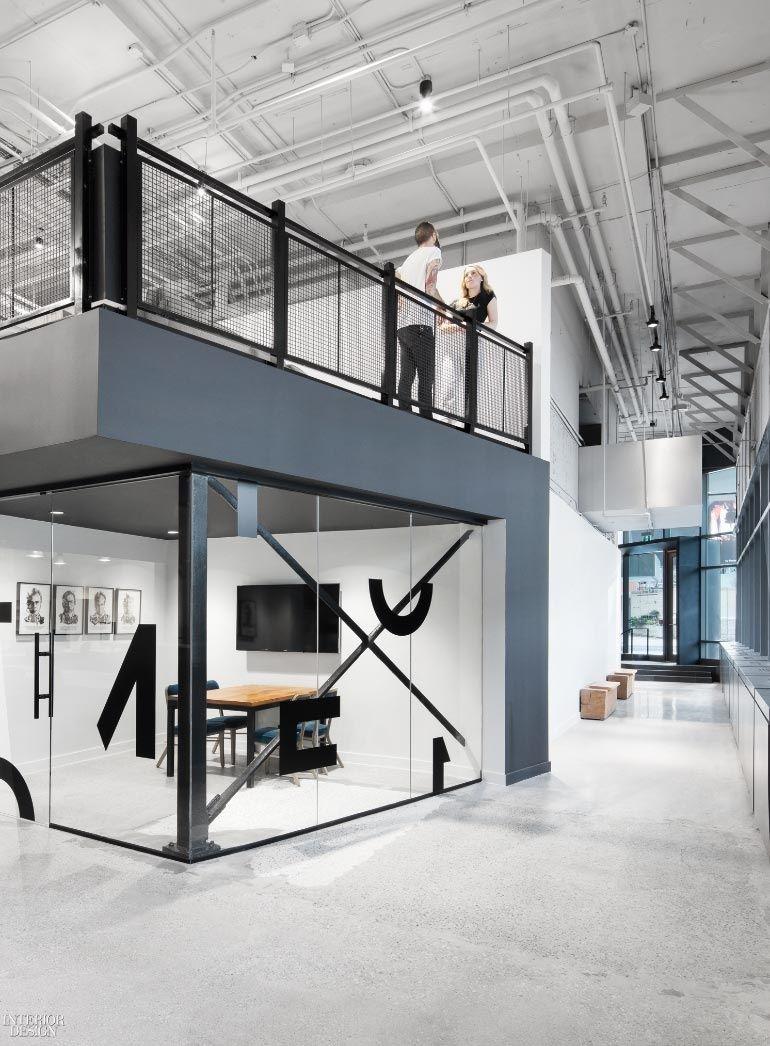 Mezzanine Bedroom Industrial