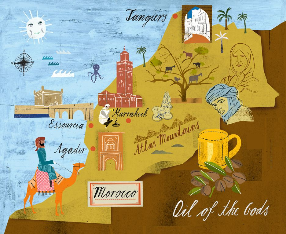 Martin Haake - Map of Morocco for illustrating argan oil ... on map of africa, map of the us, map of greece, map of senegal, map of the mediterranean, map of tangier, map of atlantic ocean, map of gibraltar, map of fez, map of world, map of romania, map of marrakech, map of nicaragua, map of austria, map of mali, map of algeria, map of honduras, map of saint martin, map of western sahara, map of mongolia,