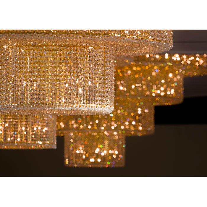 Miami chandeliers chandelier moments pinterest miami ai weiweis chandeliers for the fountainbleau hotel in miami each chandelier is in diameter aloadofball Gallery