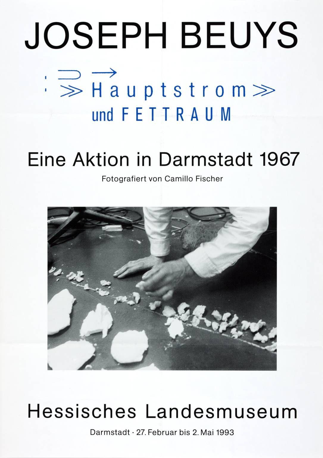 'Joseph Beuys. Eine Aktion in Darmstadt 1967. Hessisches Landesmusuem', Joseph Beuys | Tate