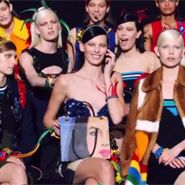 Italian fashion house Prada brought its spring 2014 print advertising campaign to life with a social video that shows the models reacting to...
