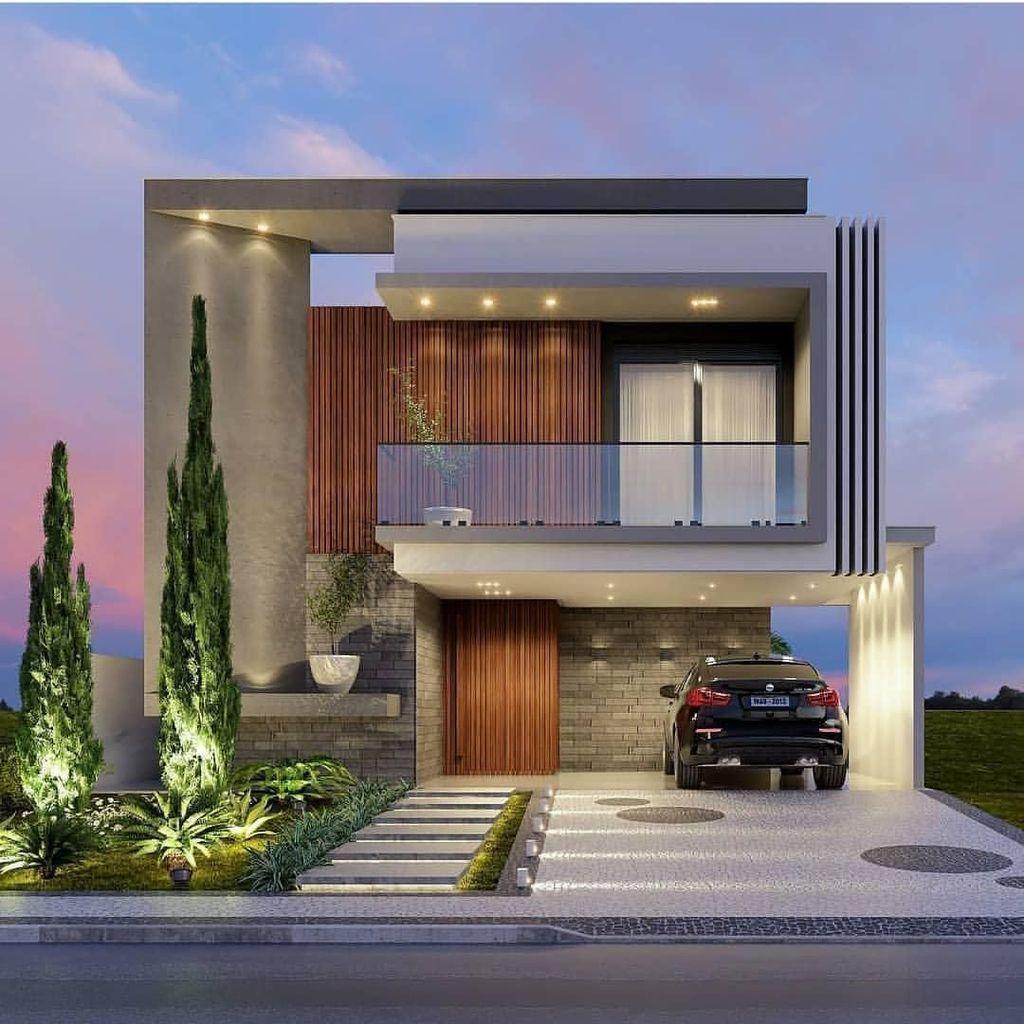 33 Lovely Modern Villa Exterior Design Ideas Luxury Look House Front Design Modern House Design House Design