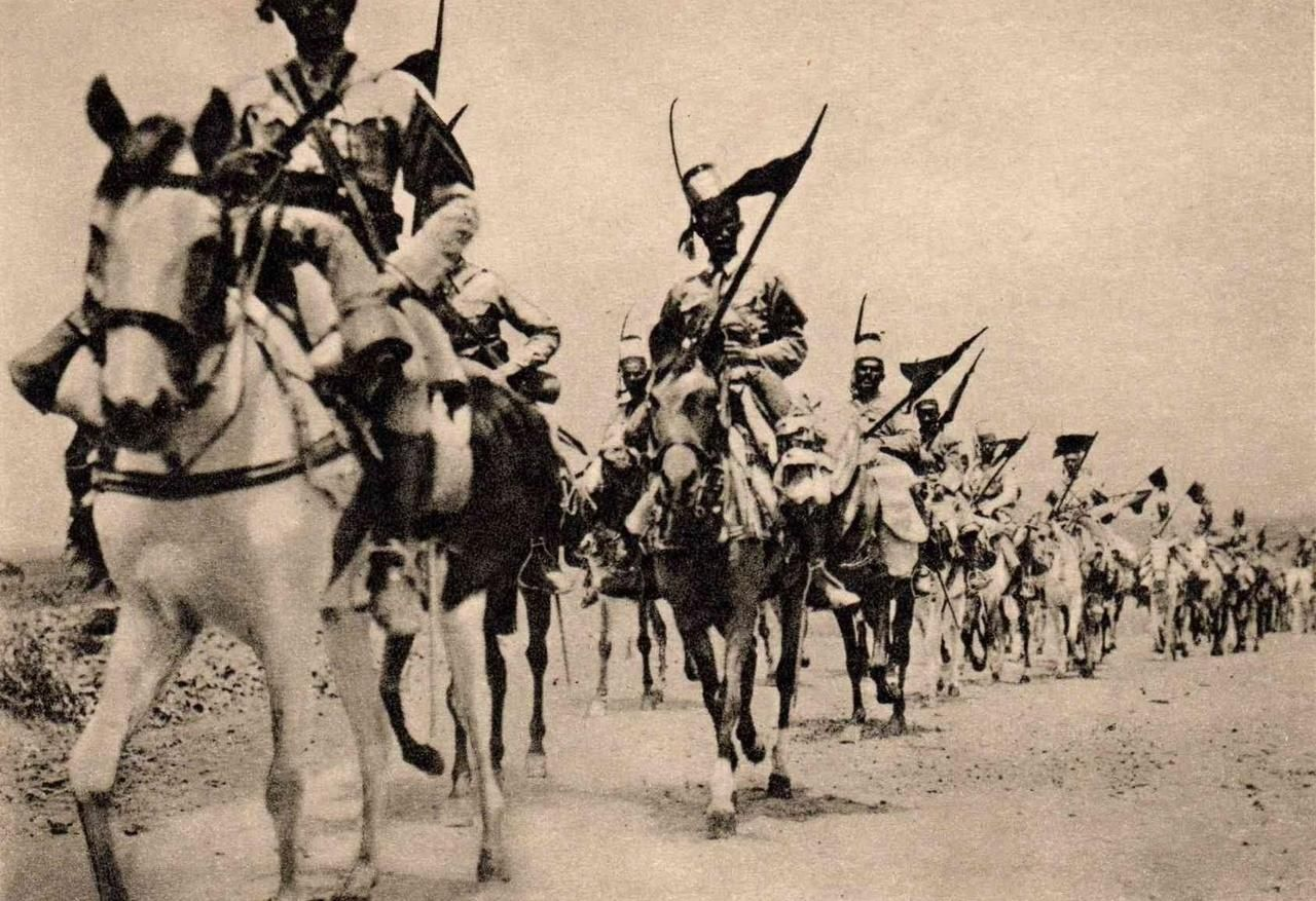 Historium Eritrean Colonial Cavalry Marching Towards Addis Ababa At The End Of The Second Italo Ethiopian War 1936 Red Army Cavalry War Horse