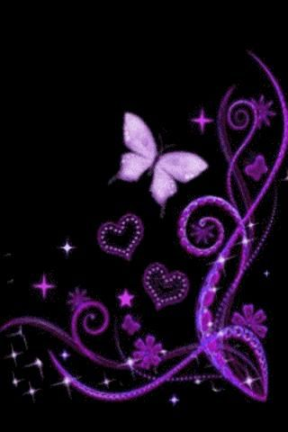 Sparkly Butterfly Wallpaper Google Search Pink And Black