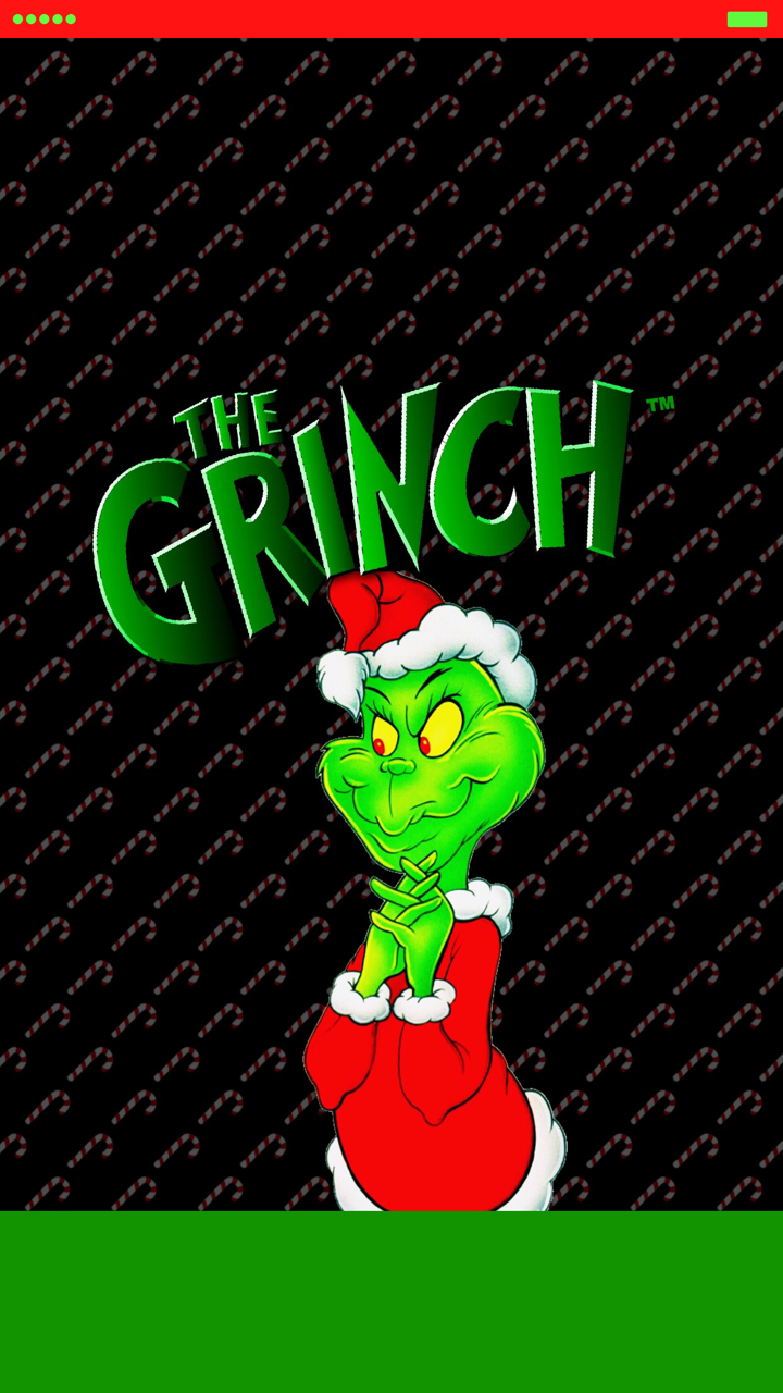 ༶Tee༶ — The Grinch iPhone 6s Plus Homescreen