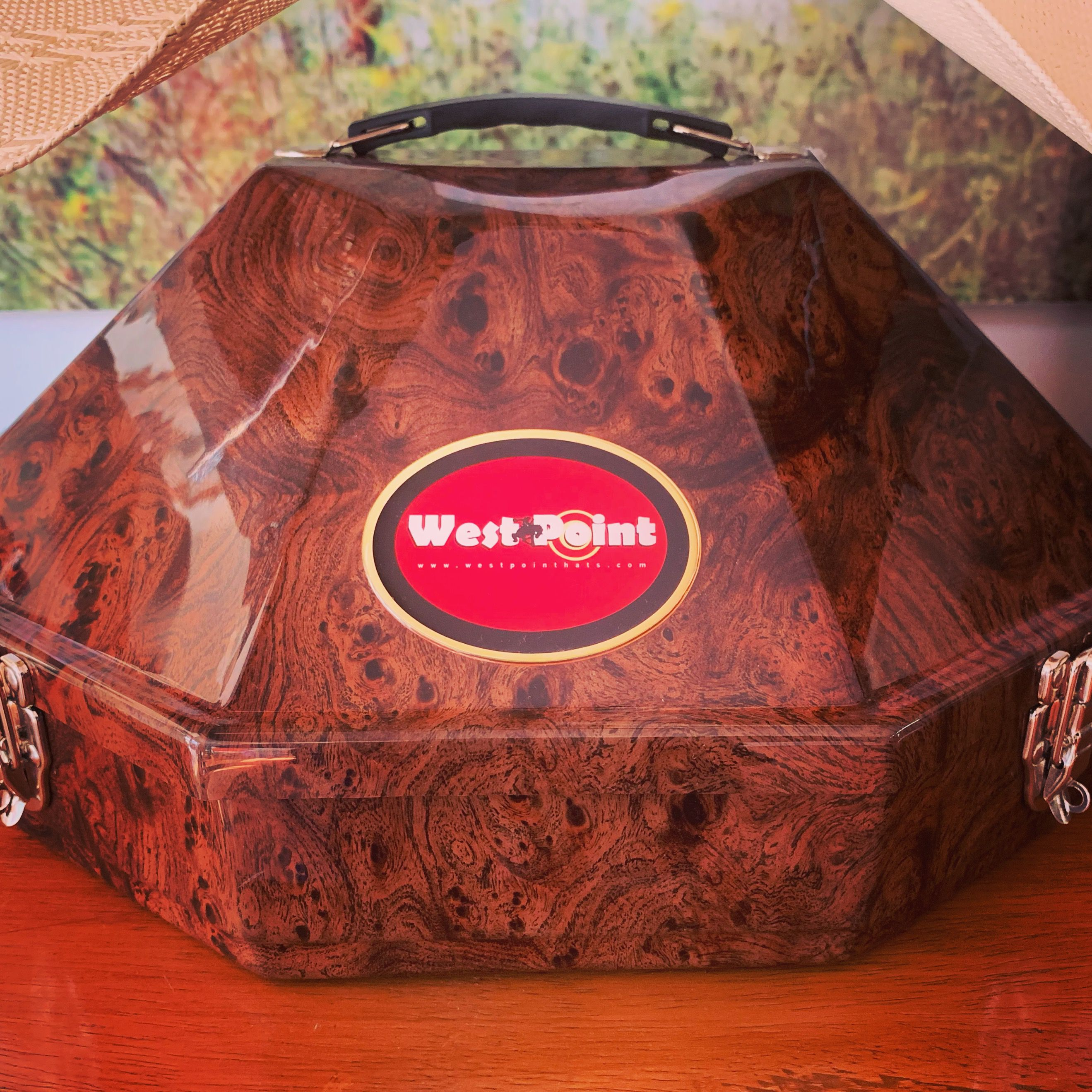felizmartes  estuche de  superlujo para  texana o  sombrero  westpointhats  ideal 629d1bda72d
