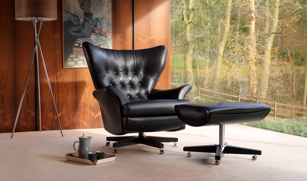 The Sixty Two Mid century lounge chairs, Dining chair