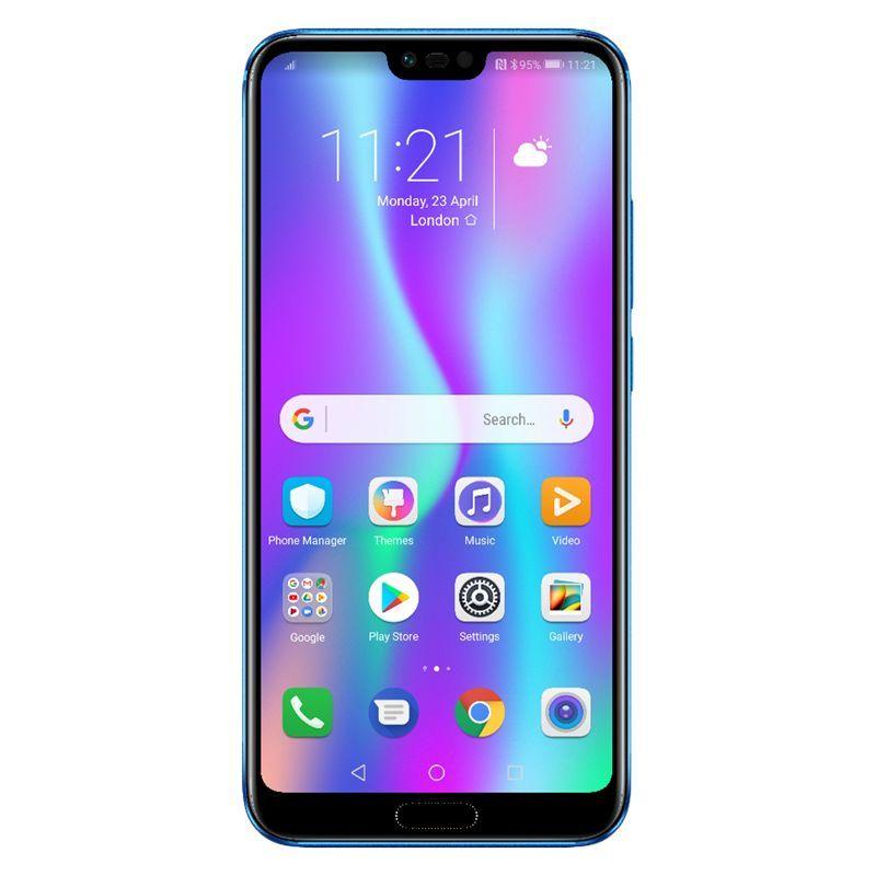Honor 10 Dual Sim Smartphone Android 5 84 4g Lte Sim Free 128gb Phantom Blue Smartphone Phone Android