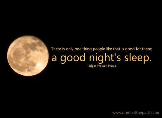 A Good Place To Sleep And A Giveaway How To Fall Asleep Sleep Quotes Good Night Sleep