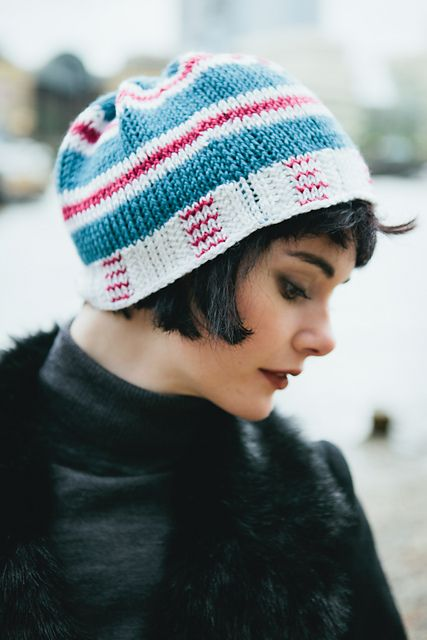 Tunisian Crochet Ravelry Duplicate Hat Pattern By Amy Depew The
