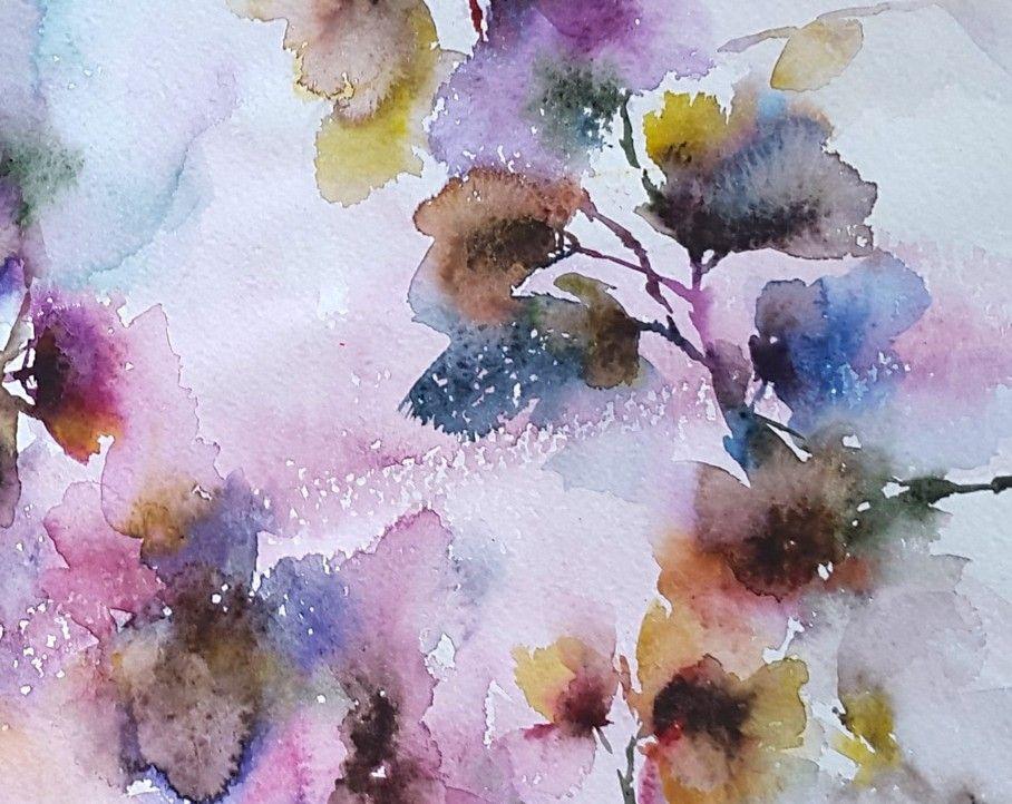 watercolor flowers watercolor flowers