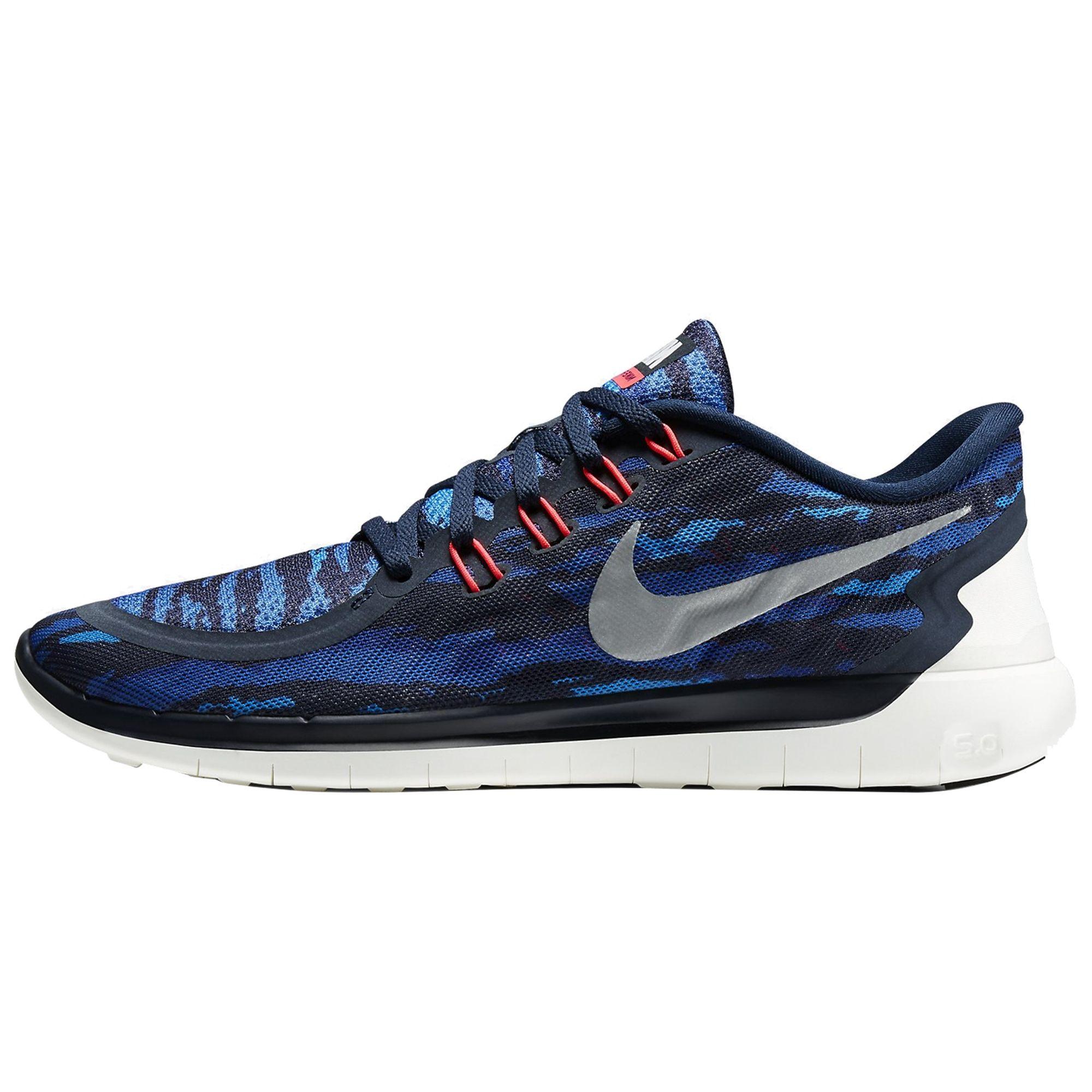 Nike Free 5.0 Print Erkek Spor Ayakkabı #749592-401 - Barcin.com