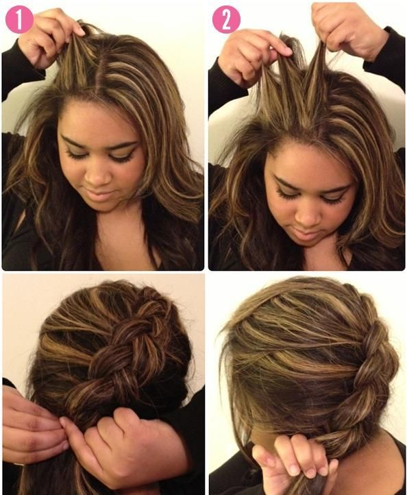 Coiffure Simple Et Rapide Avec Tresse Photo Coiffure Simple Coupe Cheveux Simple Fast Hairstyles Easy Hairstyles Hairdo For Long Hair