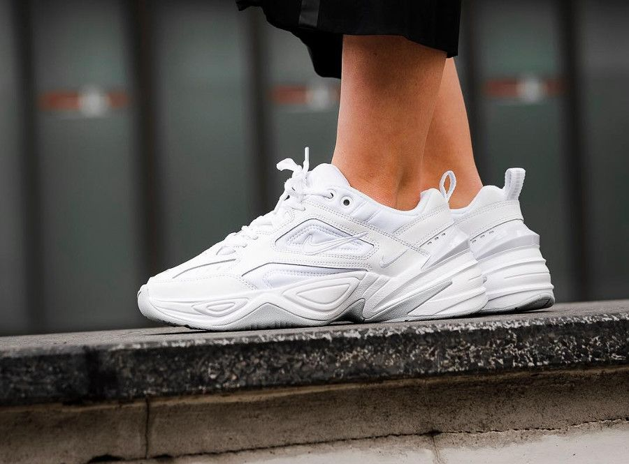 timeless design 75c2c 599dc Nike Tekno MK2 White Pure Platinum | Shoes en 2019 | Shoes sneakers ...