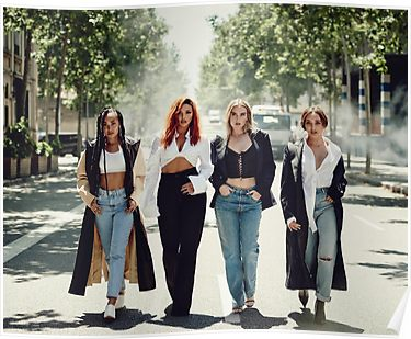 Little Mix 2  British Girl Group Poster The X Factor Pop Singer Winner Picture