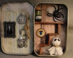 cookie tin shadow boxes