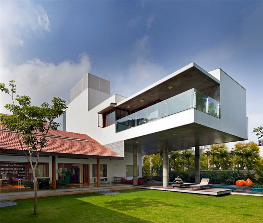 Home Design Ideas Bangalore: Pic Of Modern House In Bangalore India (Pic Of Modern