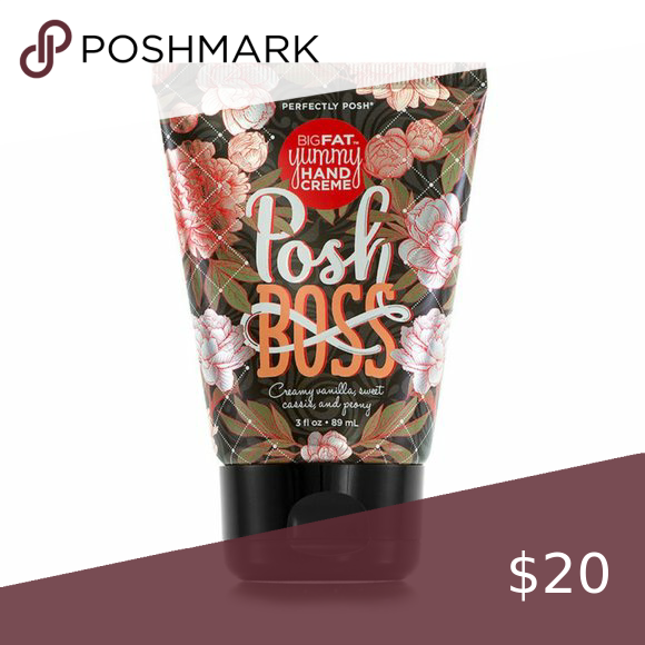 Perfectly Posh Posh Boss Bfy Creme Lotion Creamy Vanilla Sweet Cassis And Peony Coconut Oil And Apricot Kernel Oi Perfectly Posh Creme Apricot Kernel Oil