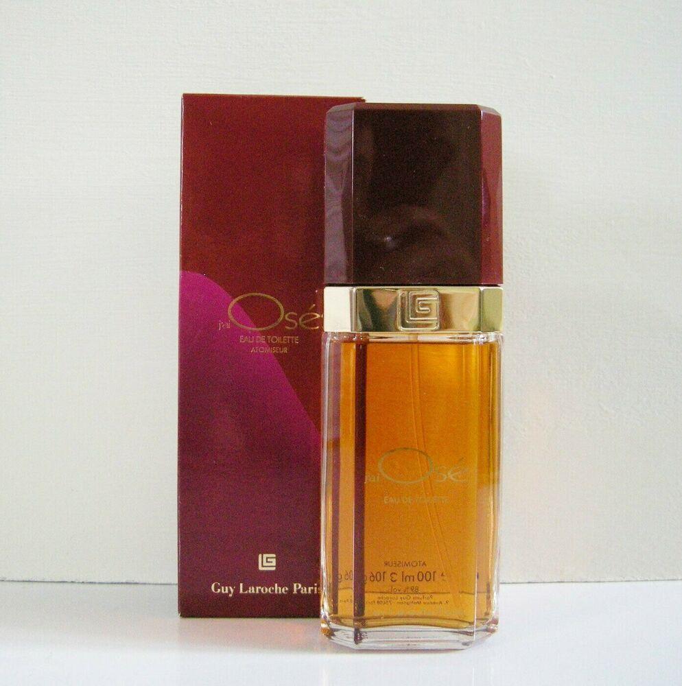 Vintage 1987 J Ai Ose Guy Laroche 100ml Eau De Toilette Atomiseur Old Formula Guylaroche Fragrances Perfume Guy Laroche Eau De Toilette