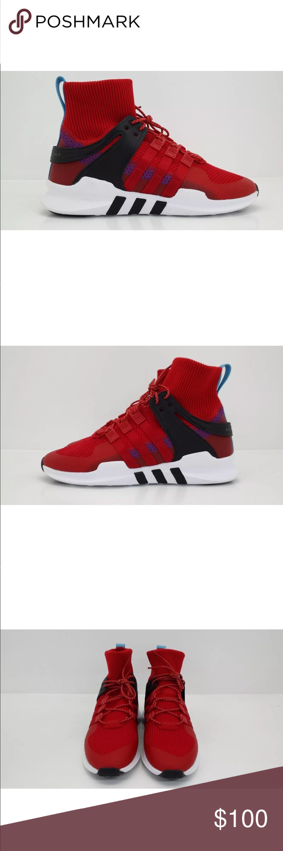 info for 5b486 24002 Adidas EQT Support ADV Winter Running Shoes BZ0640 Adidas EQT Support ADV  Winter BZ0640 Condition