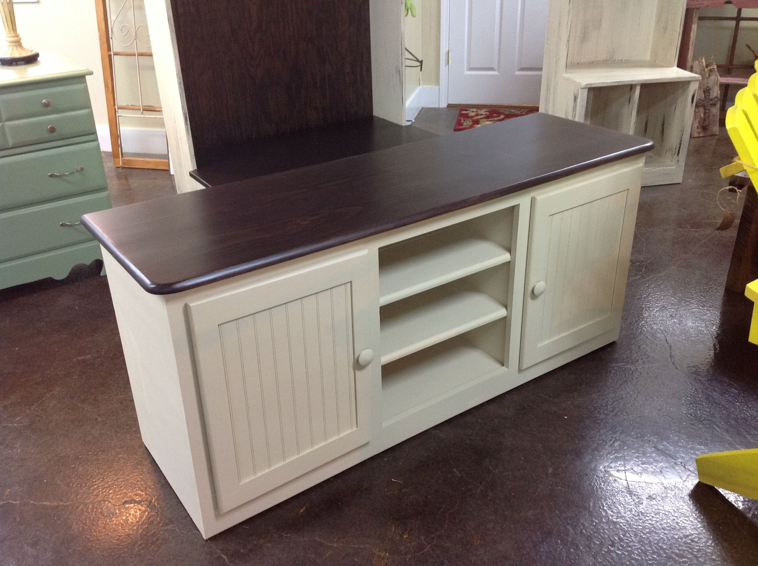 One Of A Kind Media Console. Country CasualMedia Consoles
