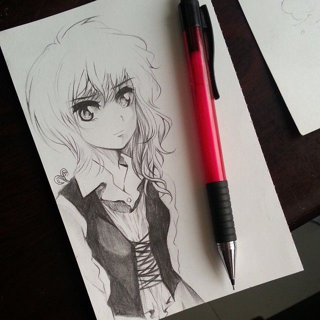 Pin By زهرة الخزامي On ابيض واسود Art Humanoid Sketch Anime