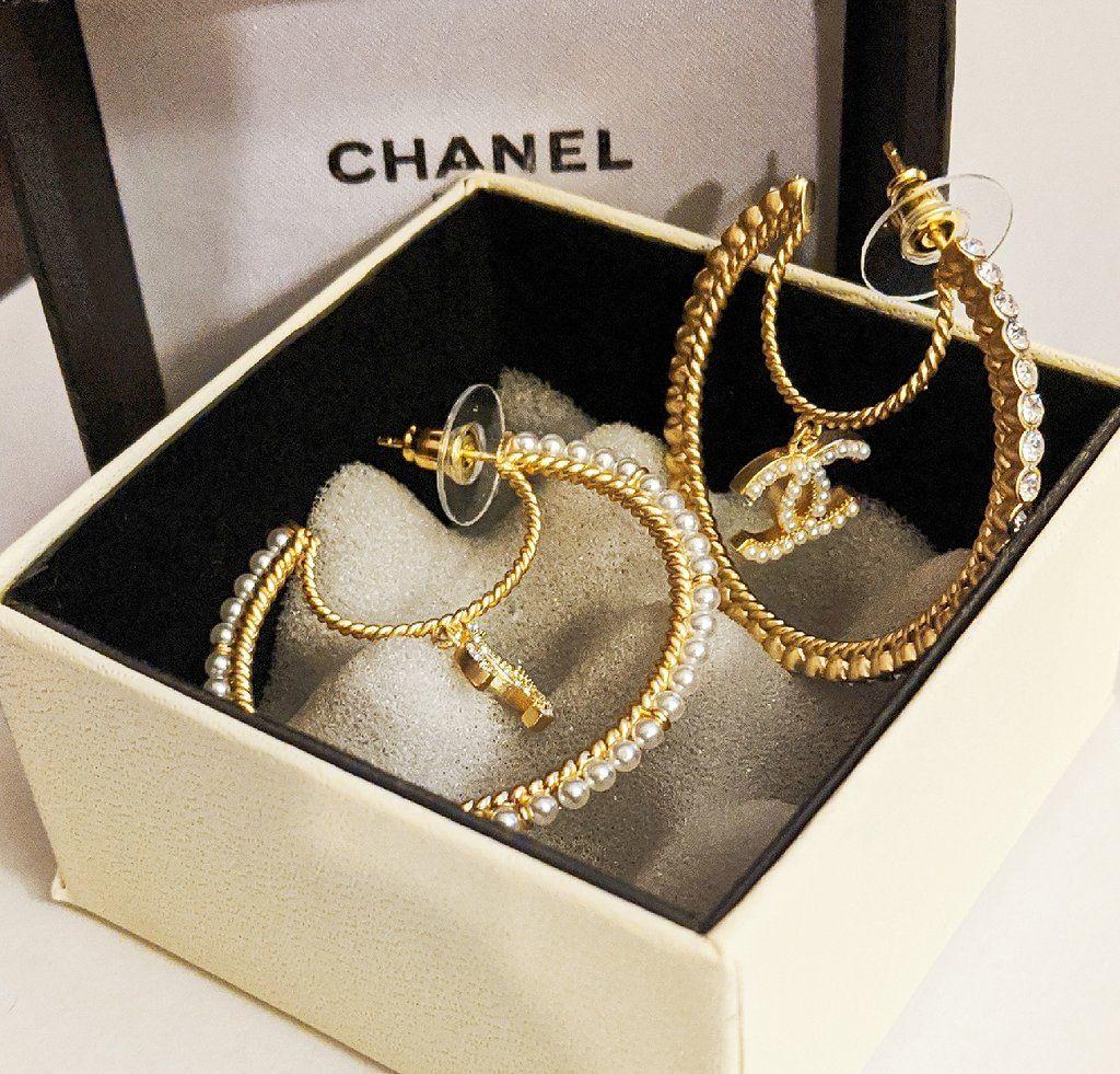 Chanelearrings Ccearrings Chaneljewelry Womenjewelry