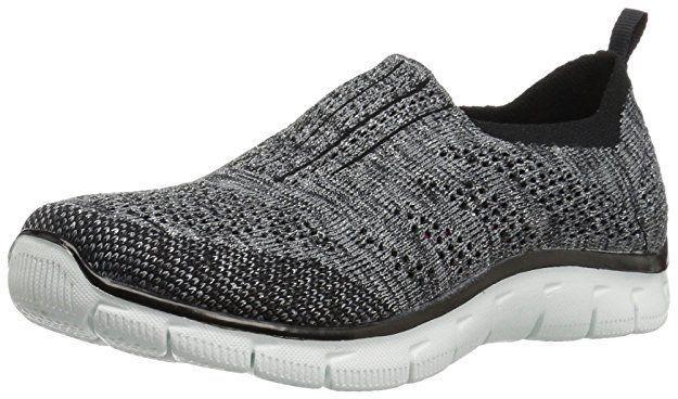 Skechers Gratis Big Idea Damen Sneakers, Black (Schwarz), 36