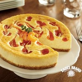 White Chocolate Apricot Swirl Cheesecake Cheesecake Recipes White Chocolate Cheesecake Recipes Cheesecake