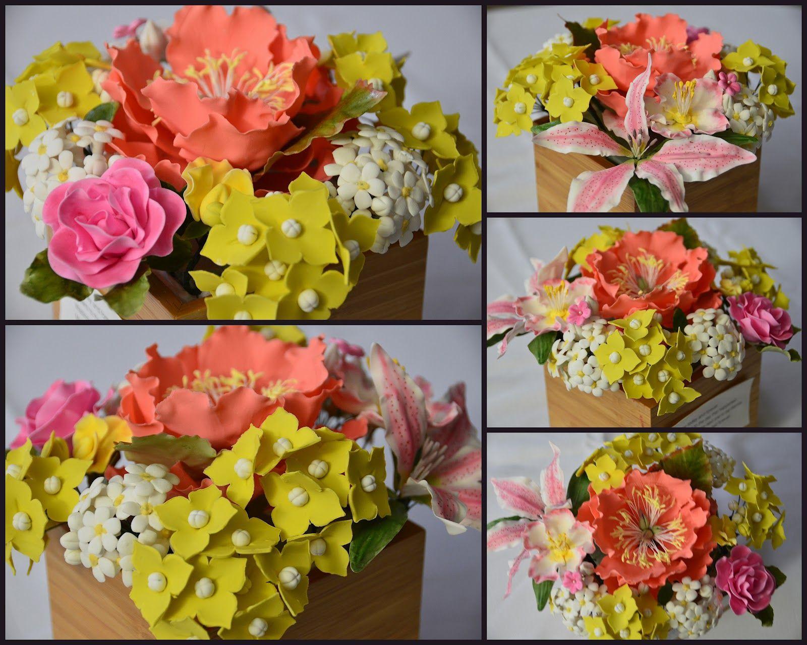 Gum+Paste+Flowers_Apr+25.jpg (1600×1280) | ortensia | Pinterest