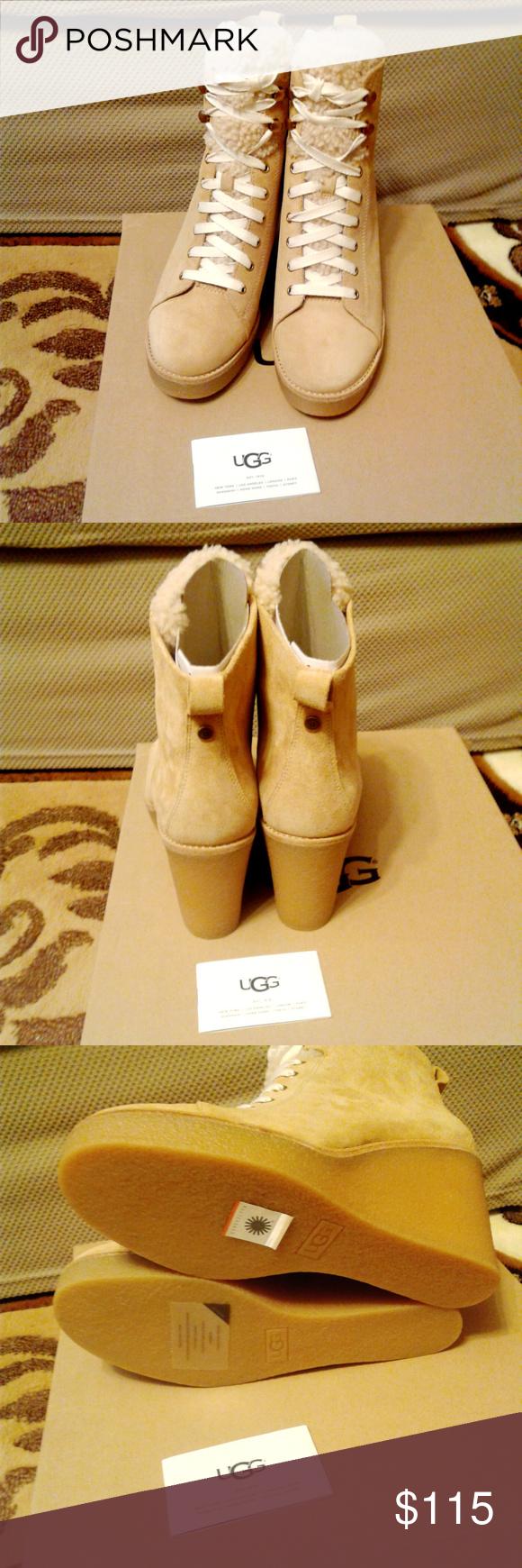 f7bd75f330c UGG Women's Kiernan Slouch Boot honey color sz 10M brand new in box ...