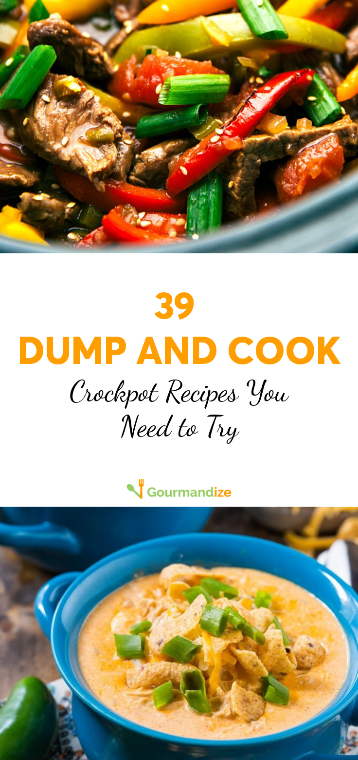 39 Dump and Cook Crockpot Recipes You Need to Try images