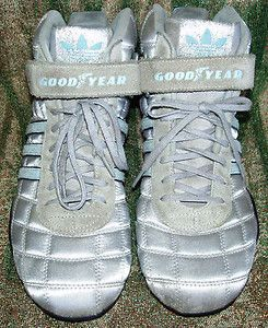 new arrival 8868e 65d6d goodyear boxing sneakers  ... ADIDAS -GOODYEAR-SILVER-AND-BABY-BLUE-SNEAKERS-BOXING-STYLE-SHOES-BOOTS