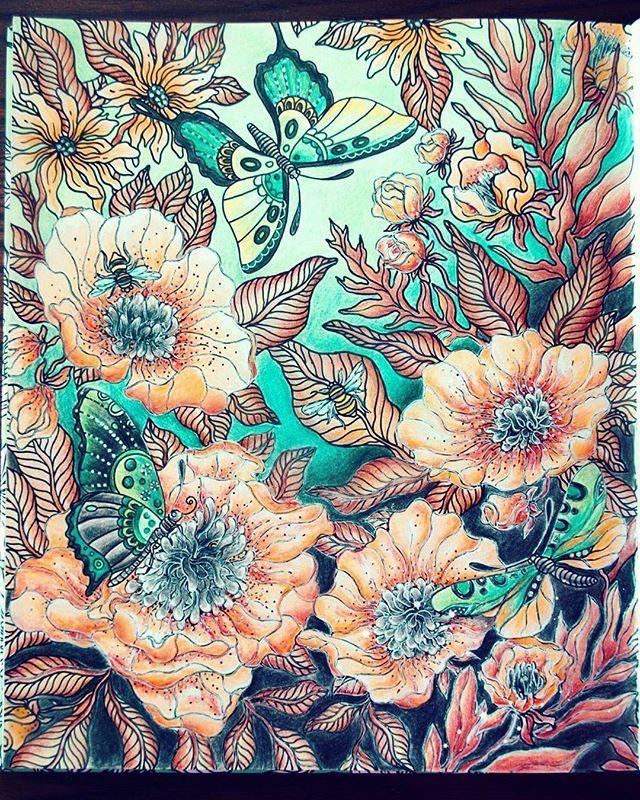 Pin de Daniela Giuliano en Hanna Karlzon | Pinterest | Colorear ...
