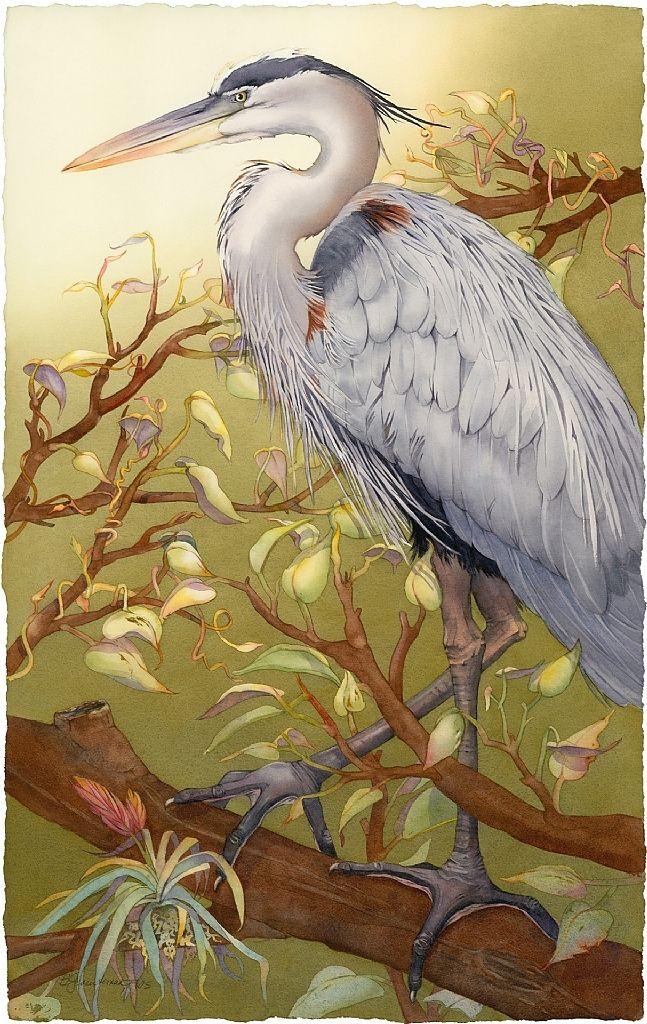 I'm Lookin' Good, Too (Great Blue Heron) | Mobile Artwork Viewer
