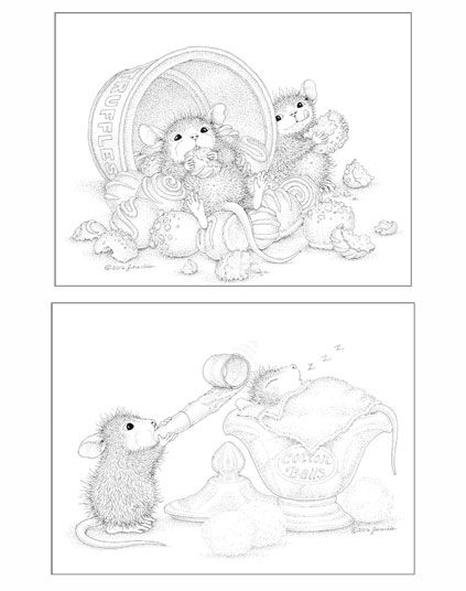House Mouse Designs A House Mouse Colouring Book Uk Edition Volume 2 House Mouse Stamps House Mouse Coloring Books