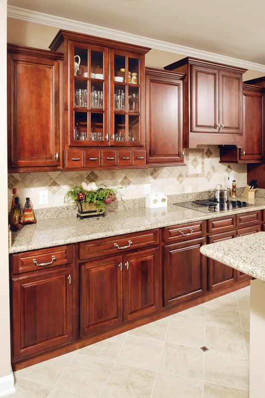 Randolph Walnut Cabinets With A Medium