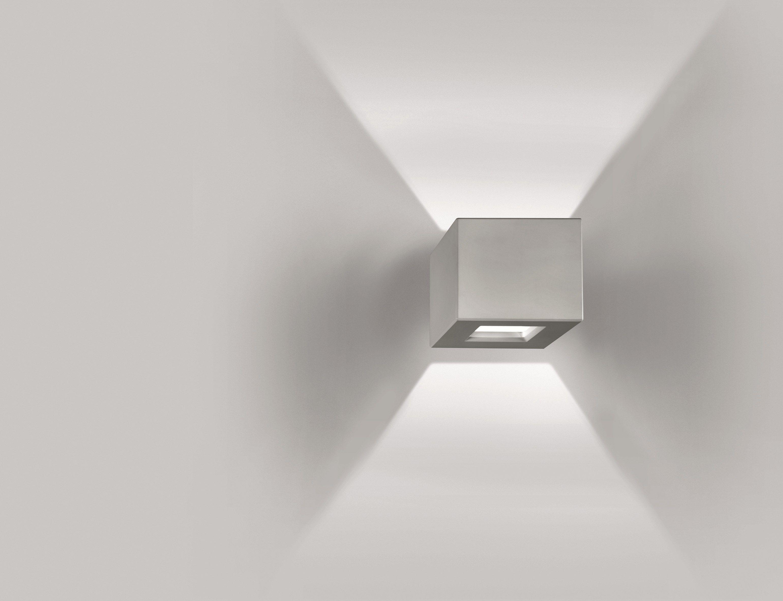 Plafoniere Da Parete A Led : Lampada da parete a led in durcoral® nuss collezione outdoor by